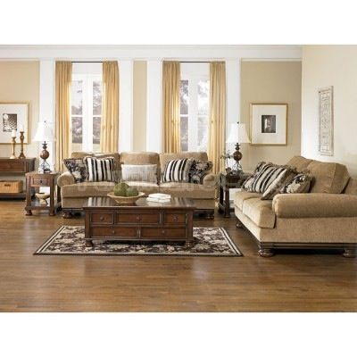 Traditional/Transitional Warm Rich Tones Living Room
