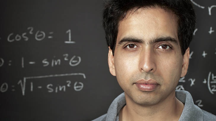 'A free world-class education for anyone, anywhere': Khan Academy founder Salman Khan.