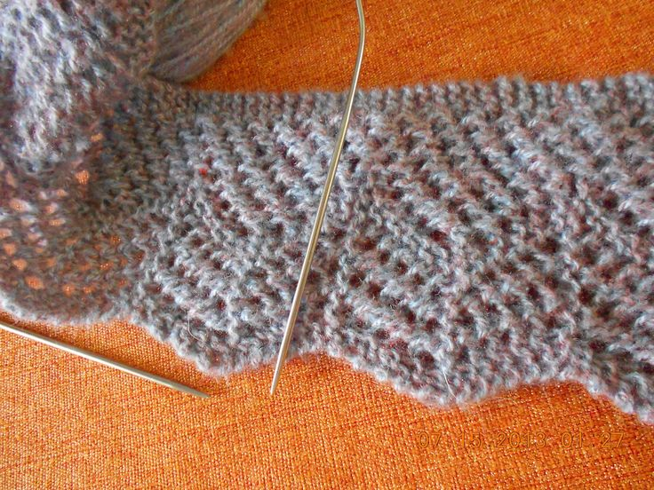 Este tejido con dos agujas es un borde de estambre para una cobija, sweter, si lo haces de hilo de algodón para fundas, sabanas, es muy elegante y se ve muy ...