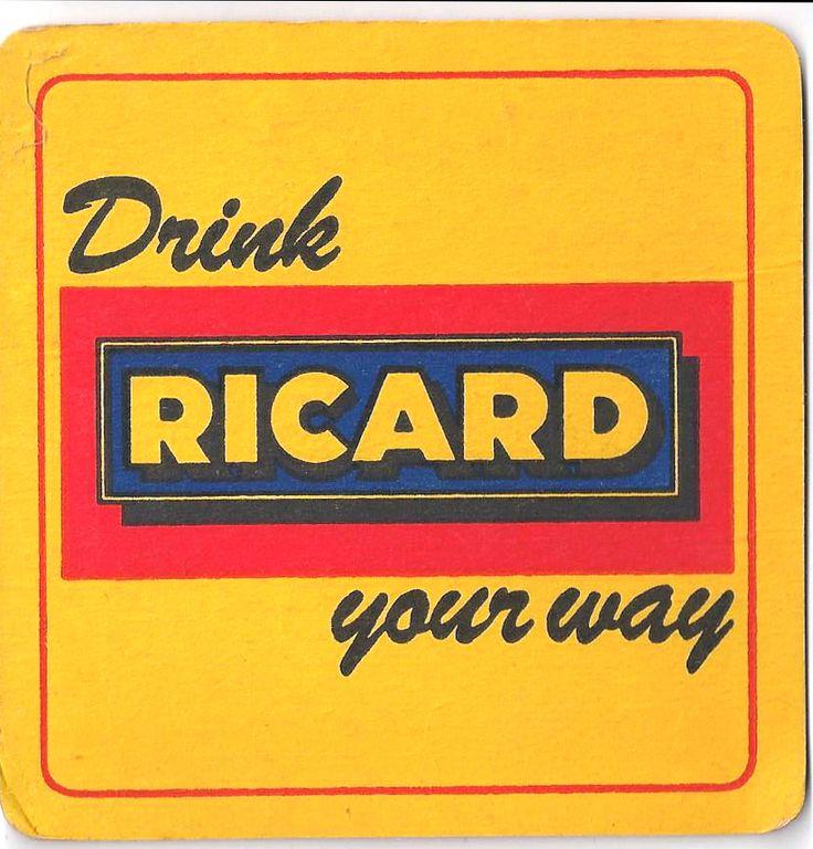 Ricard Vintage Beer mat
