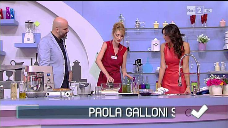 Detto Fatto - La crostata della Galloni senza burro nè uova  21/02/2014 ...