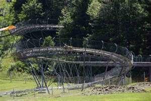 Mountain coaster at Wisp!