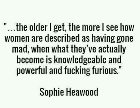 Behind every awakened woman...