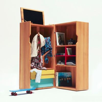 Love The Hat Tree, Colourful Drawers And Cubby Holes Tucked Inside This  Cute And Clever Trunk. Designed By The Hansen Family.