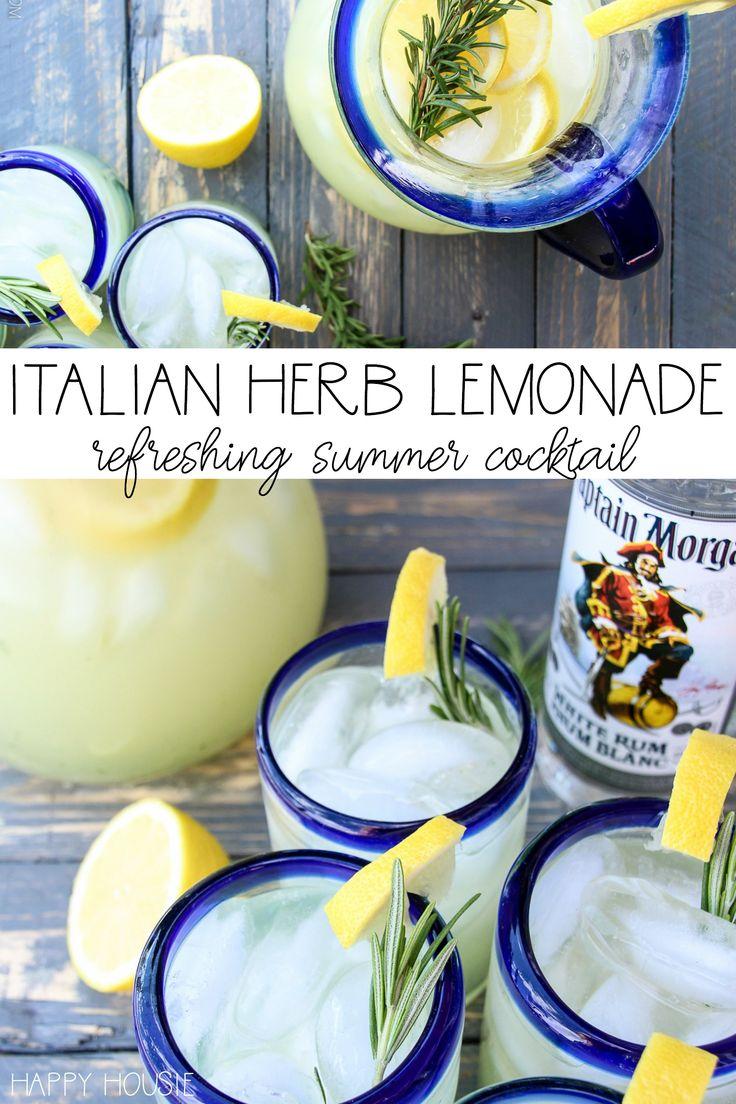 Italian Herb Lemonade