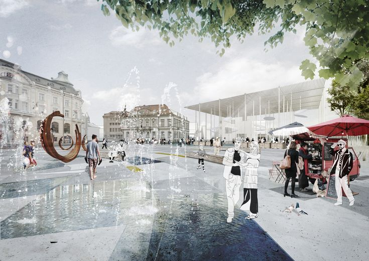 special prize, Trencín - City on the River Competition | Marko & Placemakers, GutGut