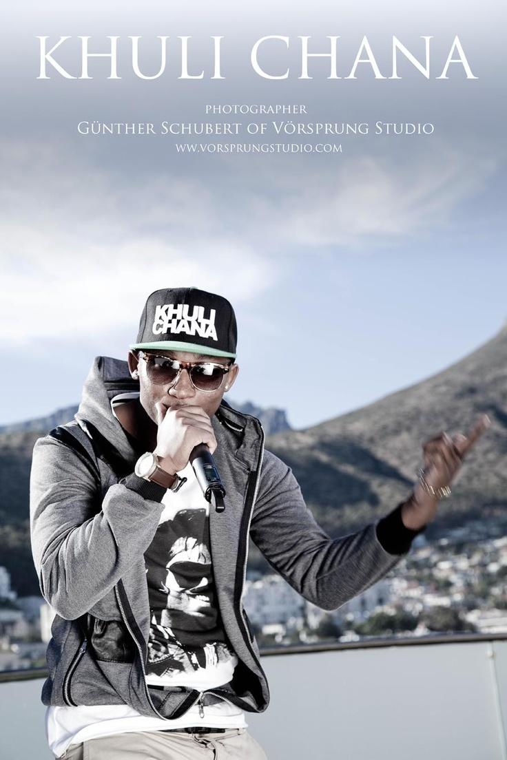 Khuli Chana South-African Rapper