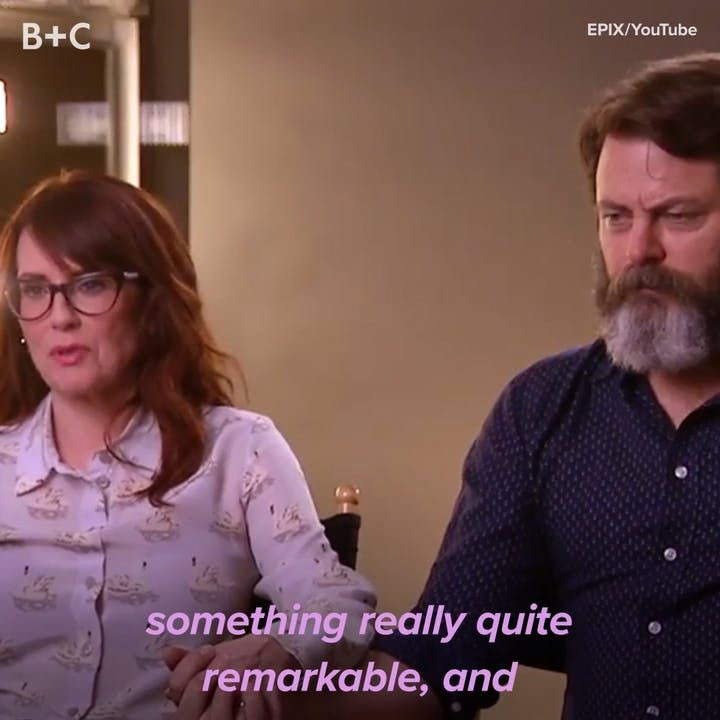 Proof That Nick Offerman and Megan Mullally Are Total Couple Goals
