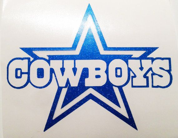 Dallas Cowboys Vinyl Sticker Decal For by ItsAGirlThingShoppe