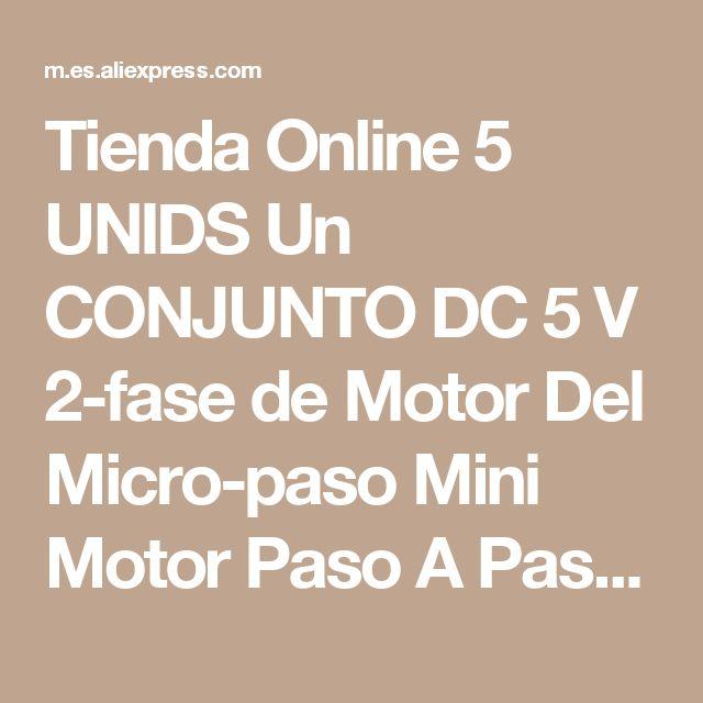 Tienda Online 5 UNIDS Un CONJUNTO DC 5 V 2-fase de Motor Del Micro-paso Mini Motor Paso A Paso del Tornillo Deslizante Eléctrica Nueva Suministros de equipos   Aliexpress móvil