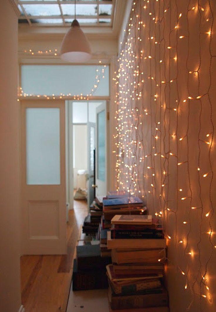 25+ best Indoor string lights ideas on Pinterest   String lights ...