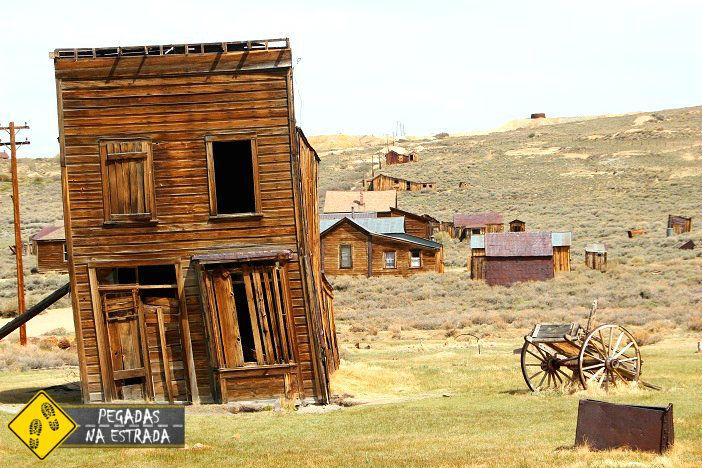 Bodie, a Cidade Fantasma mais famosa do Oeste Americano