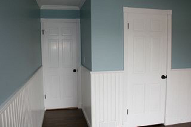 Beadboard wainscoting panel bathroom mouldings Images of wainscoting in bedrooms