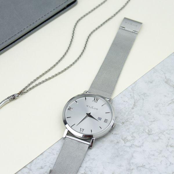 A perfect match. The Venezia Mesh Watch...