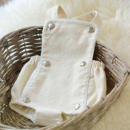 Patron couture bébé barboteuse Sirli