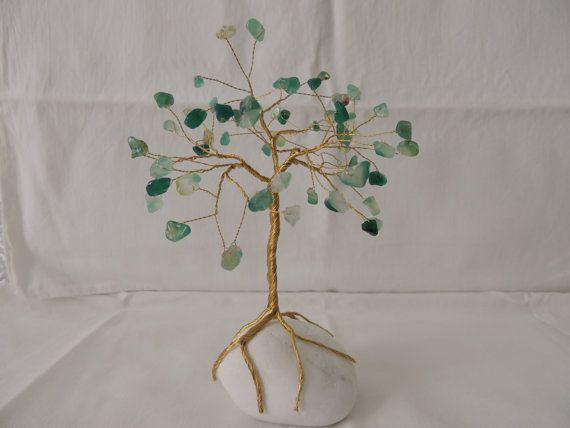 Hey, I found this really awesome Etsy listing at https://www.etsy.com/listing/238610556/green-agate-gemstone-wire-tree