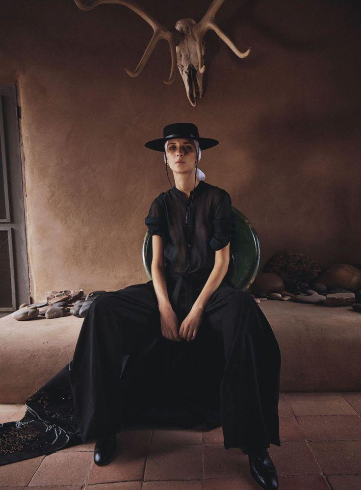Waleska Gorczevski by Will Davidson for Vogue Australia October 2015