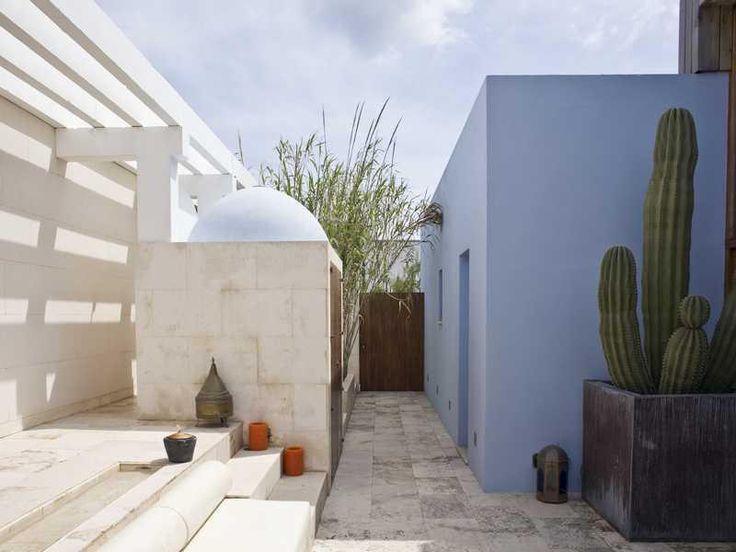 Estilo rustico espacios exteriores griegos decoracion for Exteriores rusticos