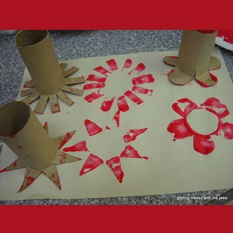 Idées bricolage avec rouleaux de papier hygiénique