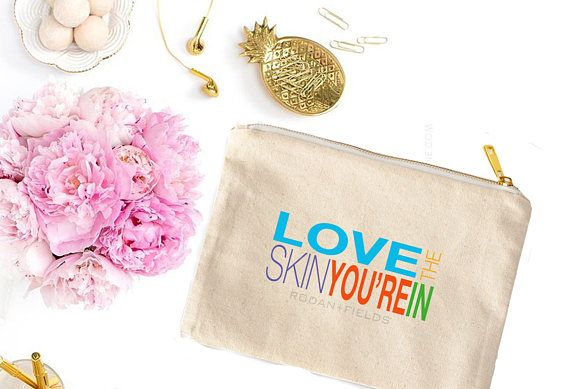 This unique cosmetic bag is an essential to any successful consultants purse! Show off your brand in style or show your team a little love by gifting it to them. Theyll love it!   ITEM DETAILS: ≫ Size: 9.5″W x 7″H ≫ Color: Natural Canvas; lined ≫ Weight: 10 oz. ≫ Material: 100% cotton canvas ≫ Printing Method: Professional Laser ink transfer ≫ Care: Spot Clean with Mild Soap and Water  BEFORE ORDERING, PLEASE NOTE: ≫ This listing is for a physical item. Lead time is approximately 2-7 days…