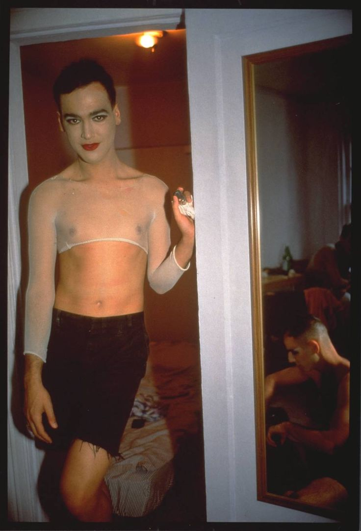 Nan Goldin Immy Paulette And Tabboo! Undressing, NYC 1991