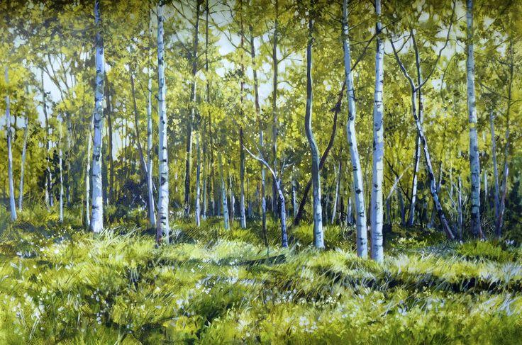 "Golden Grove 24 x 36"" acrylic"