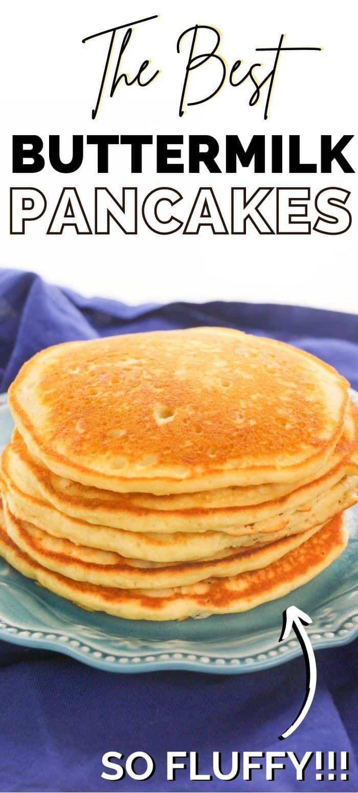 Buttermilk Pancakes Recipe In 2020 Breakfast Brunch Recipes Buttermilk Pancakes Savory Breakfast Recipes
