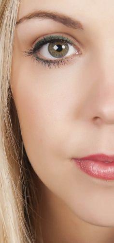 Semi-permanent eyeliner treatment.