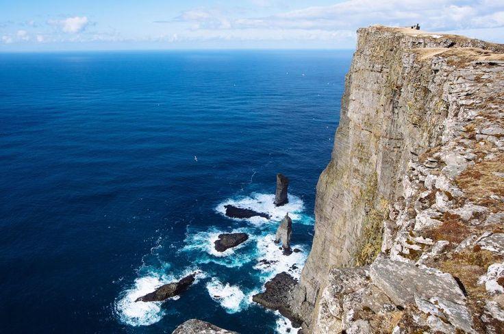 Risin og Kellingin en las islas Feroe