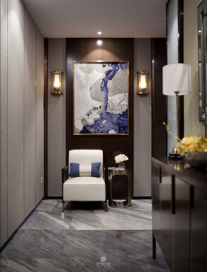 Un coin de luxe design dintérieur décoration maison luxe