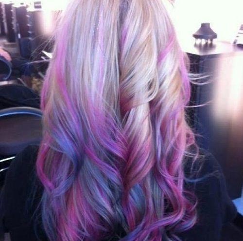 Pastel Dip Dye Beautiful Hair Pinterest Pastel Dip