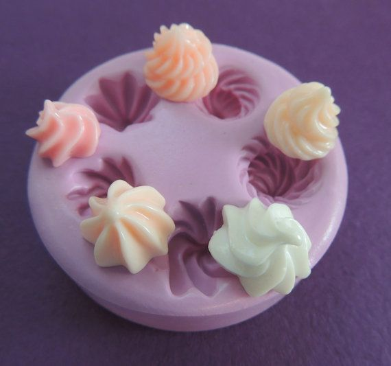 Silicone Molds Cupcake Frosting Silicone Mold Miniature Sweets Jewelry Mold
