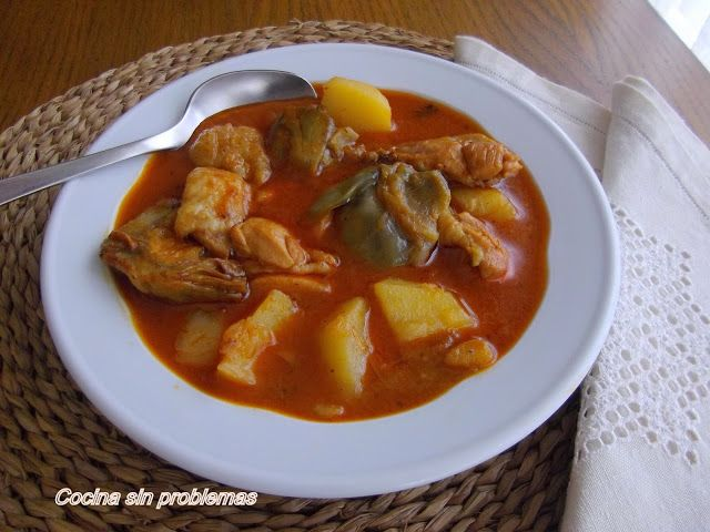 Cocina  Sin Problemas: Guisado de pollo.