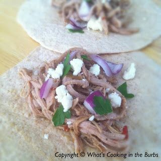 What's cooking in the burbs: Spicy Dr. Pepper Pulled Pork Tacos ~ WW PP 3