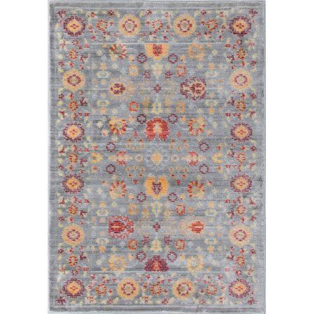 Bliss Rugs Amrita Traditional Area Rug, Brown