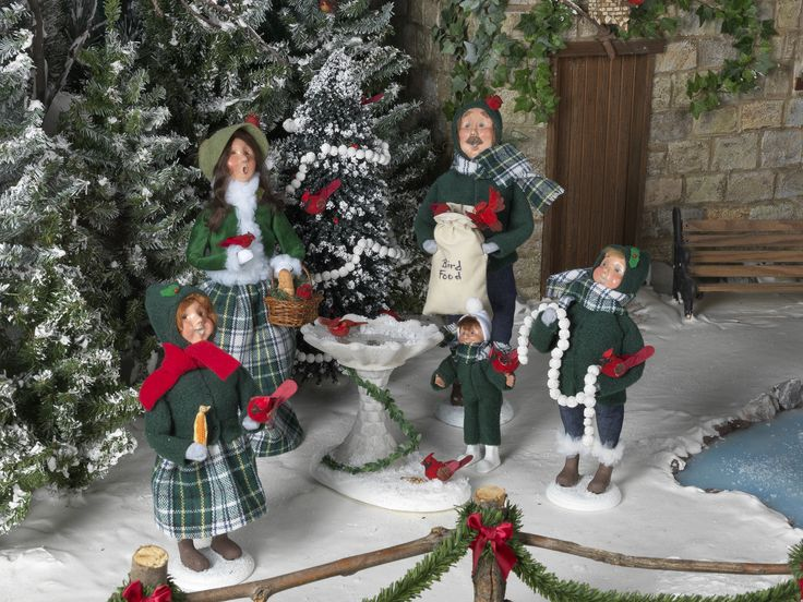 16 Best Byers Choice Carolers For The Birds Images On