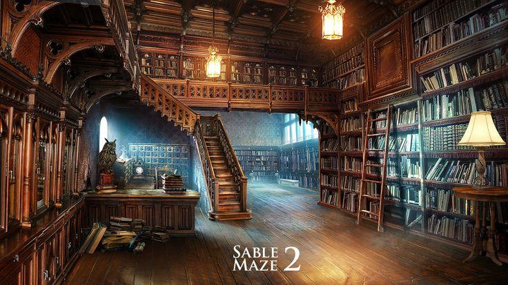 Sable Maze library by VityaR83 on deviantART