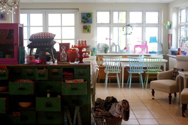Cafe Savillas, Danmark
