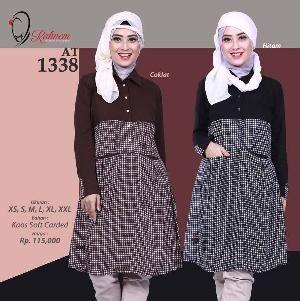 Baju Blus Wanita Rahnem Model AT 1338 - Promo Ramadhan Sale