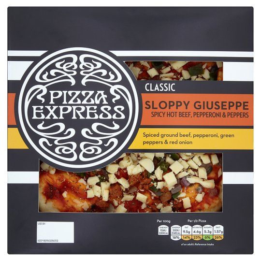 Pizza Express Sloppy Guiseppe Pizza 305G - Groceries - Tesco Groceries
