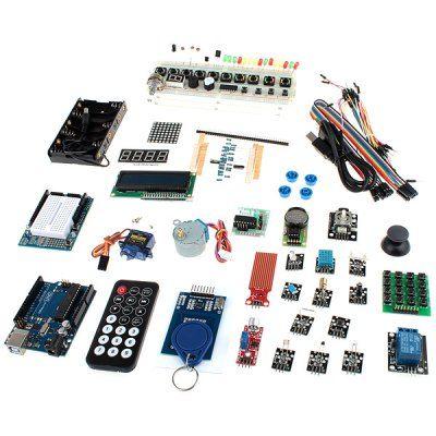 XD06 Arduino DIY UNO R3 RFID Stepper Motor 18 Expansion Module Kit for Learners to DIY #kit #diy #diyrobot #robot #electronics #arduino