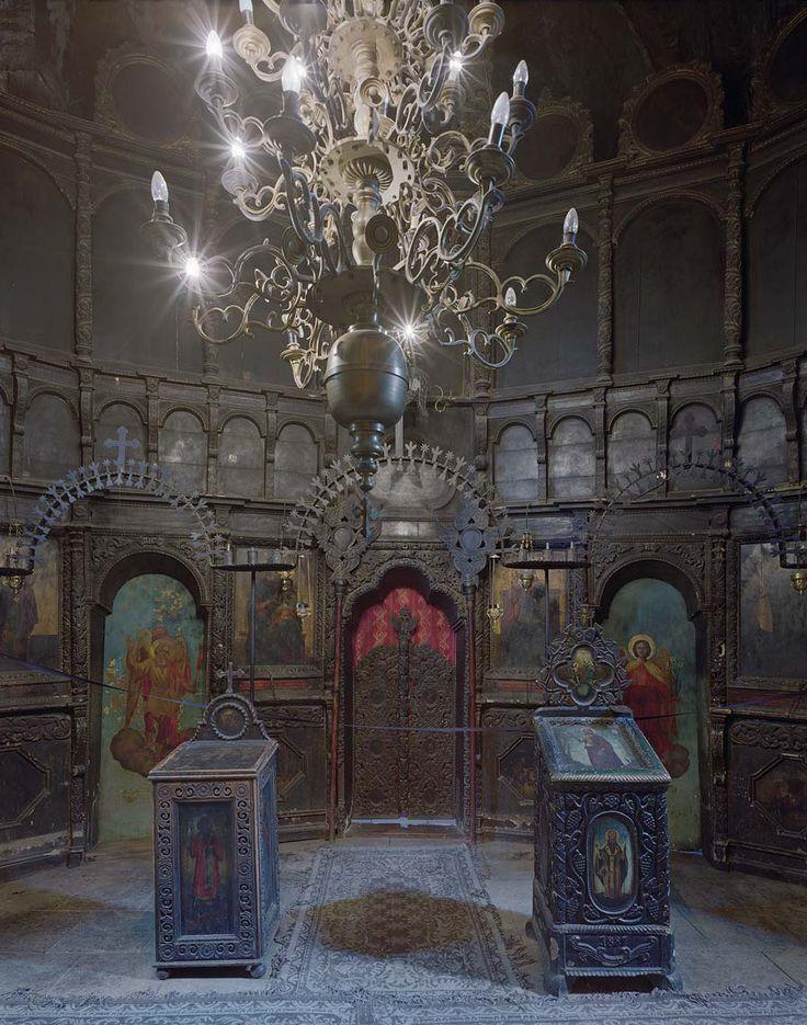 Arbore Monastery No. 1, Bucovina, Romania, 2006 | David Leventi Photography