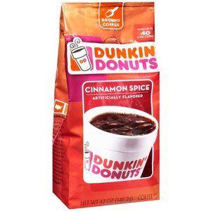 Dunkin' Donuts Cinnamon Spice Ground Coffee, 12 oz