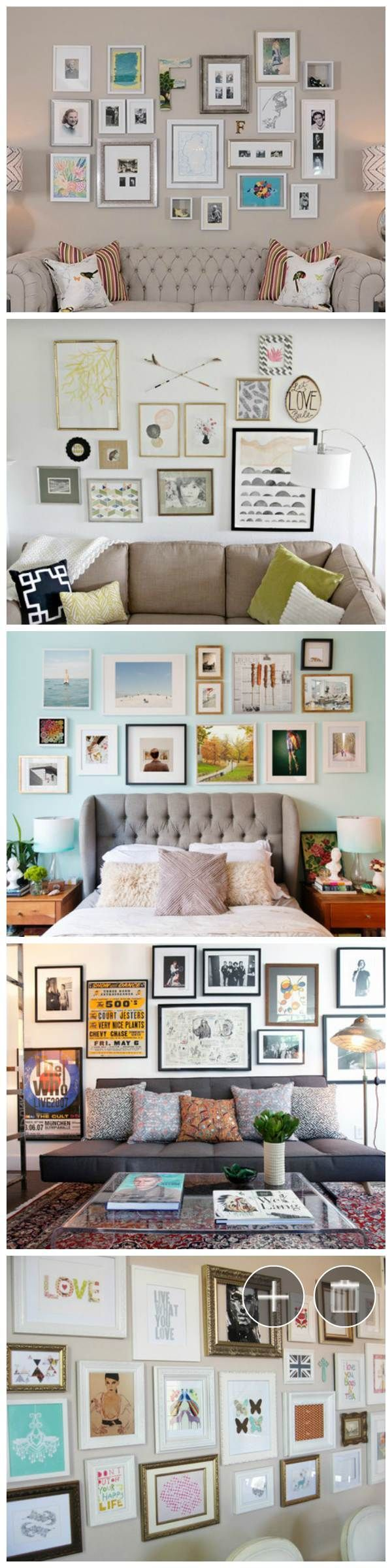 Making An Art Gallery Style Wall In Your Home Is One Of The Hardest Things
