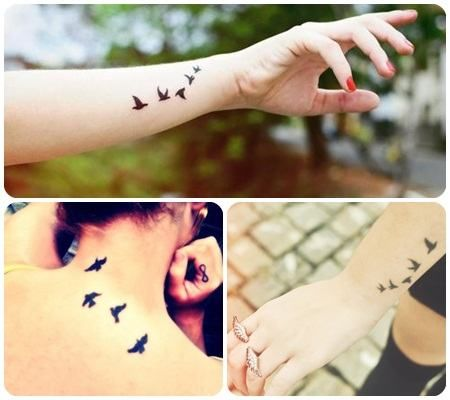 modelos de tatuagens de passaros