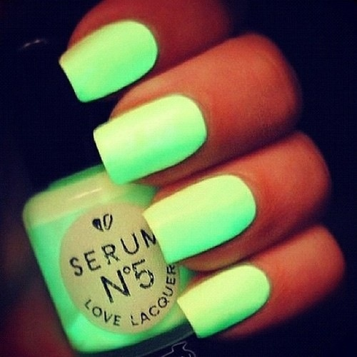 Super Neon Nail Polish For Those Nights When You Need To