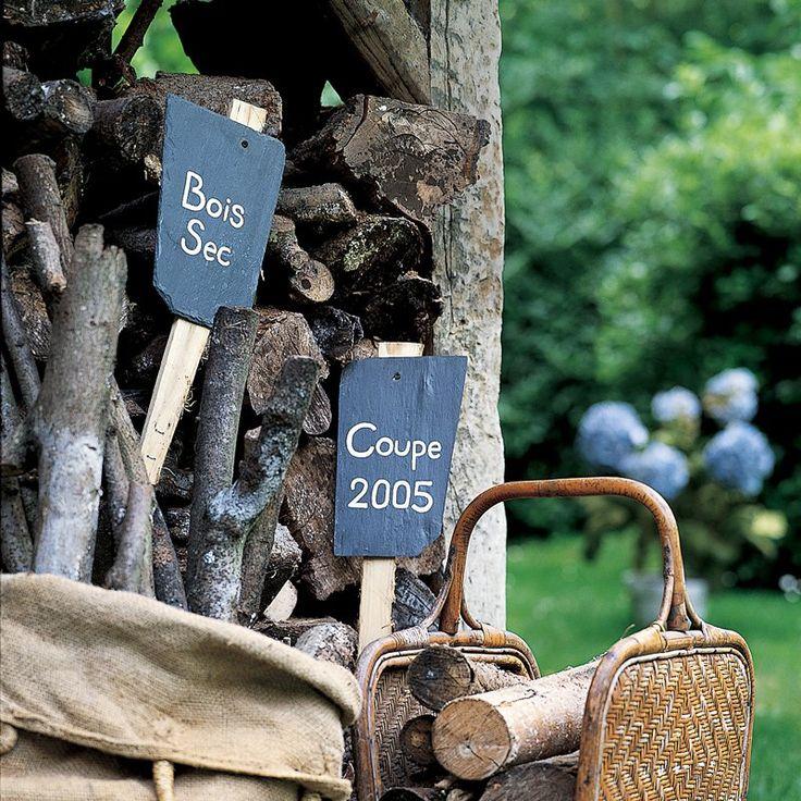 Les 25 meilleures id es de la cat gorie piquet ardoise sur for Piquet ardoise jardin