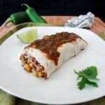 Homemade Frozen Burrito Recipe | One Ingredient Chef. Who doesn't (secretly) love frozen burritos! Now you can have them on hand, and guilt free.