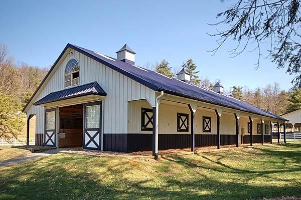 93 Best Horse Barn Exteriors Images On Pinterest Dream