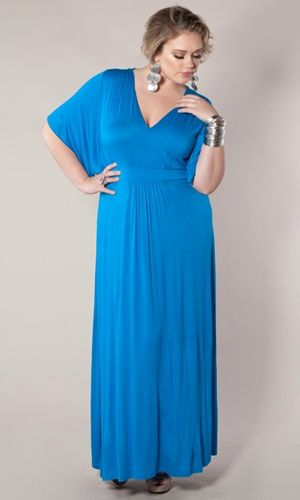I need this Maxi Dress!! Although I can't decide if I want it in the blue or the pink. :) Of course, I should just get the black. Can never go wrong with black!